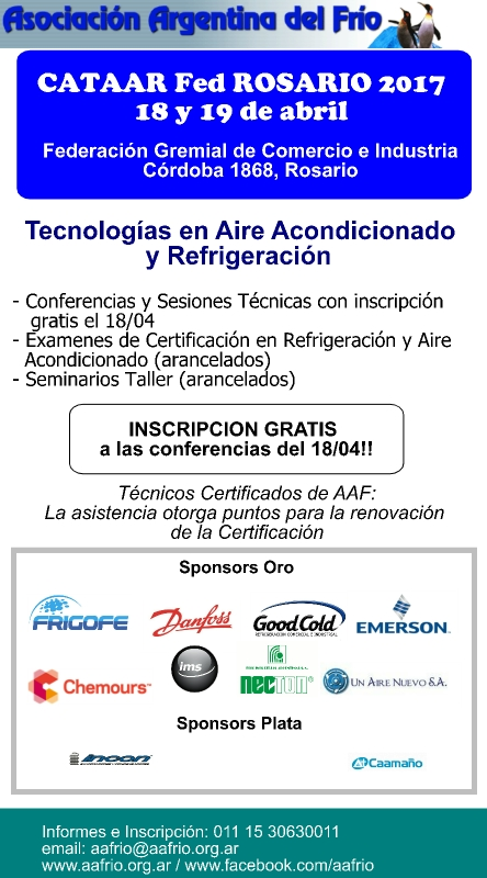 CATAAR Fed Rosario 2017